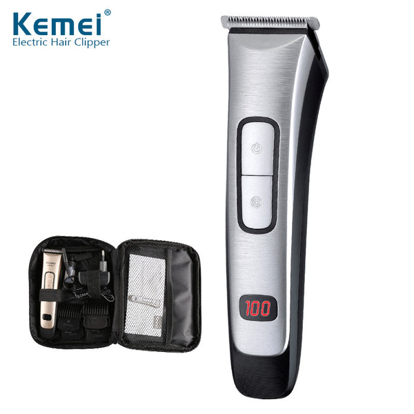 Kemei Clipper/Trimmer 1.5 Hour quick charge with LED display