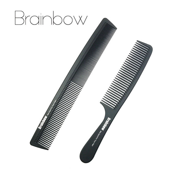 Brainbow 2 High Quality Black Anti-static Hair Combs