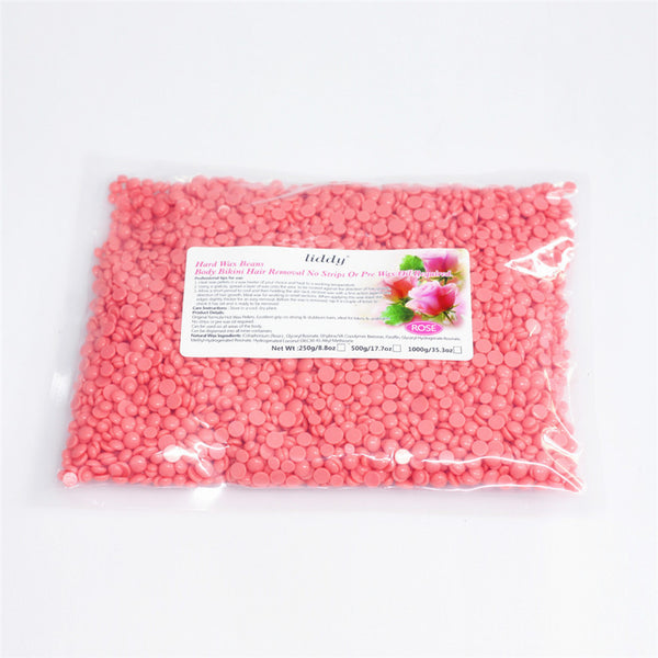 500g Rose Flavor Hair Removal Wax Beans