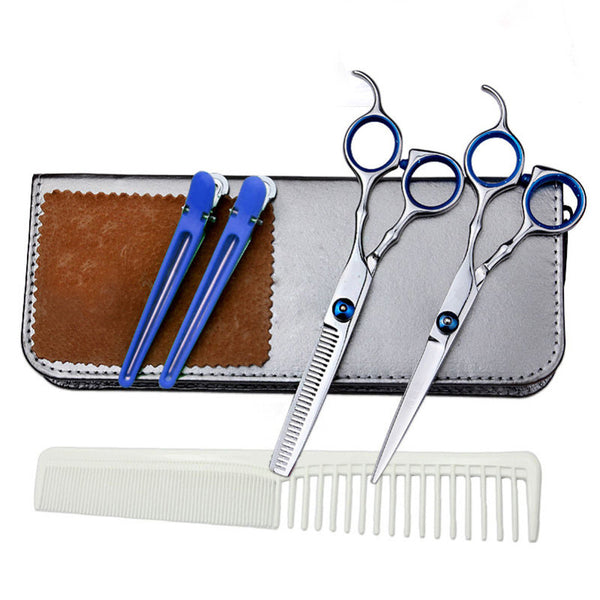 "6"" Stainless Steel Beauty Salon Scissors Set"
