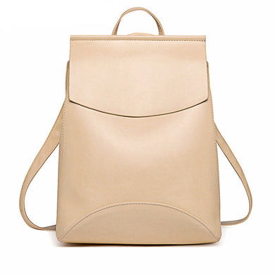 Mochila Leather Backpack