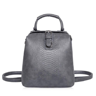 Crocodilly Leather Backpack