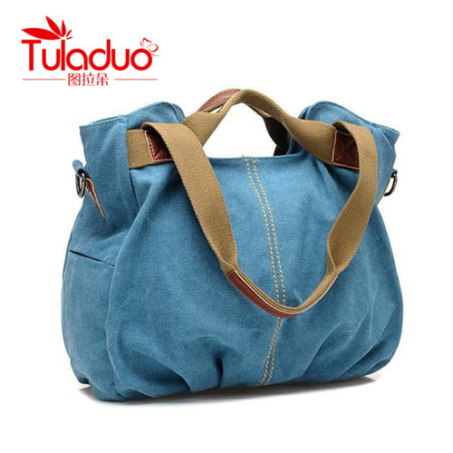 el'Toledo Canvas Shoulder Bag