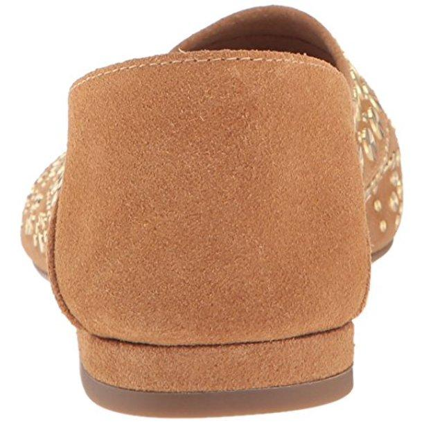 Cecelia New York Suede Mojito Sand Moccasin 7B Brand New,your-fashions-for-less,Cecelia New York,Flats.