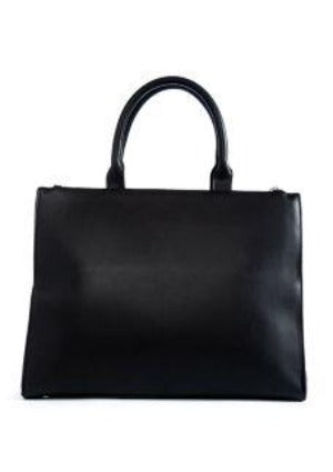 THE LIMITED Turn Lock Tote with Snakeskin Pouch New - Your Fashions For Less