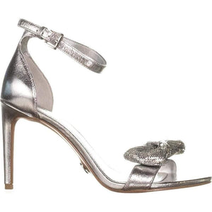 MICHAEL Michael Kors Silver Paris Sandals 10M New!,your-fashions-for-less,MICHAEL Michael Kors,Sandals.