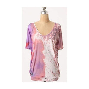 Anthropologie Ett Twa Painted Tunic Small,your-fashions-for-less,Anthropologie,Tops.