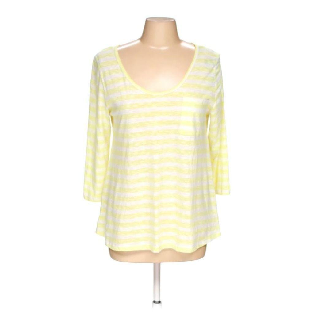 Anthropologie Striped Open Back Top Medium New! - Your Fashions For Less