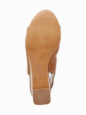 Steve Madden Lyre Tan Leather Sandals 9.5M New - Your Fashions For Less