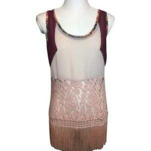 Flapper Inspired Top by BKE Small New-BKE-Your Fashions For Less