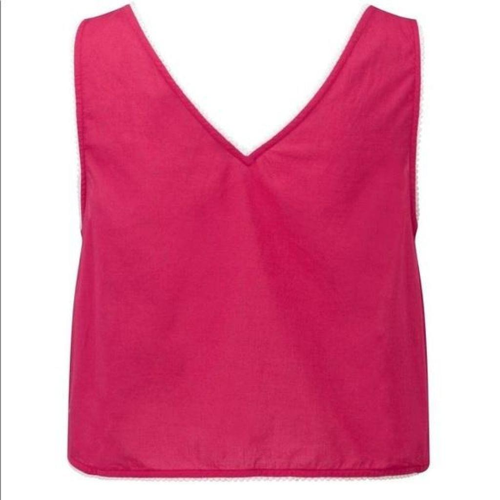 French Connection Pink Harlan Vest Top Size: 8 Free Shipping! - Your Fashions For Less