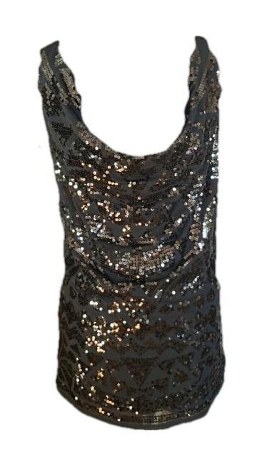 Guess Gorgeous Sequined Black Dress Large Stunning! - Your Fashions For Less