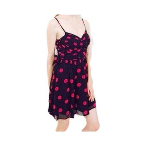 Guess Los Angeles Silk Polka Dot Dress Gorgeous! 0 - Your Fashions For Less
