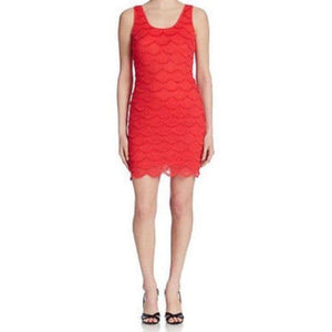 Guess Scalloped Dress Size: 12 Brand New! Free Shipping! - Your Fashions For Less