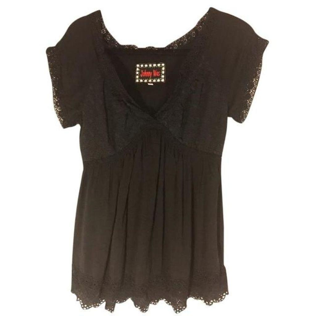 Johnny Was Eyelet Embroidered Tunic Small - Your Fashions For Less