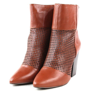 Kelsi Dagger Zidane Cinnamon Leather Boots 7.5M New! - Your Fashions For Less