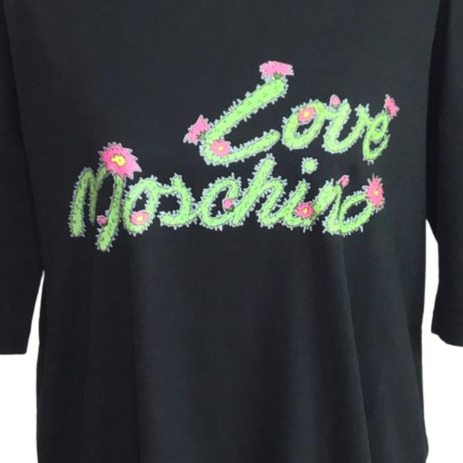 LOVE MOSCHINO Cactus Logo T-Shirt Dress 44 (US 8) Brand New,your-fashions-for-less,Love Moschino,Dresses.