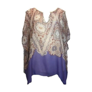 Anthropologie Maeve 100% Silk Tunic Medium Perfect! - Your Fashions For Less