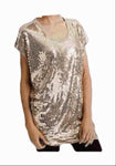 Michael Kors Gold Shimmer Top Size Small - Medium - Your Fashions For Less