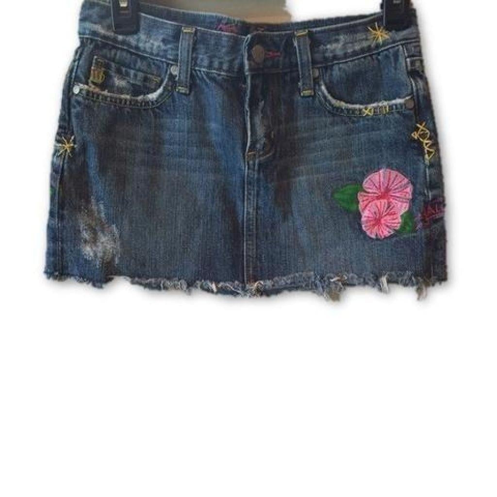 Miss Me Denim Mini Skirt Small Perfect!,your-fashions-for-less,Miss Me,Skirts.