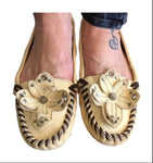 Miu Miu Cute Leather Moccasins 7M - Your Fashions For Less