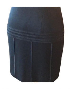 Moschino Cheap and Chic Italian Made Black Skirt 8,your-fashions-for-less,Moschino Cheap and Chic,Skirts.