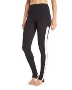 Sam Edelman Color-block Lightweight Active Stirrup Leggings - Your Fashions For Less