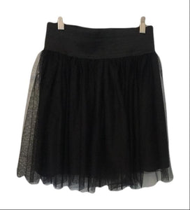 Show Me Your Mumu Black Tulle Skirt Small-Show Me Your Mumu-Your Fashions For Less