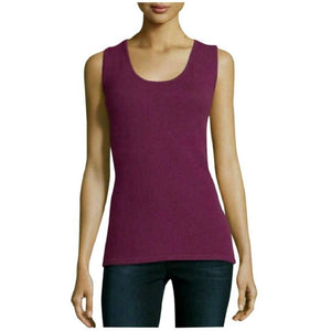 St. John Marie Gray Cashmere Top Large New - Your Fashions For Less