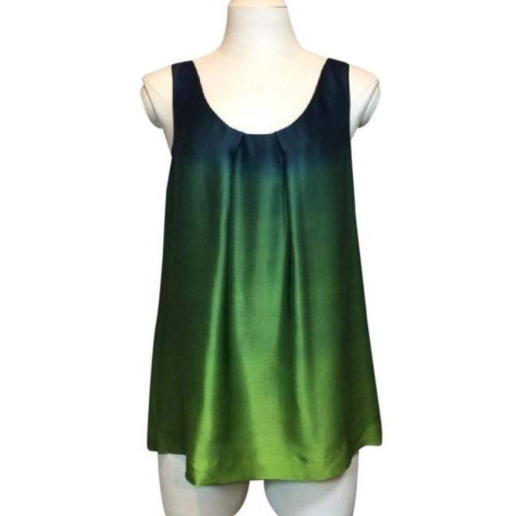 Theory 100% Silk Sleeveless Top Medium Perfect!-Theory-Your Fashions For Less