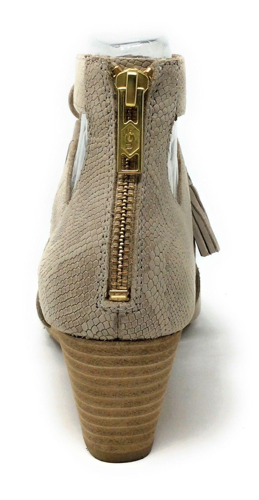 UGG Yasmin Leather Snake Wedges 10M New!-Ugg Australia-Your Fashions For Less