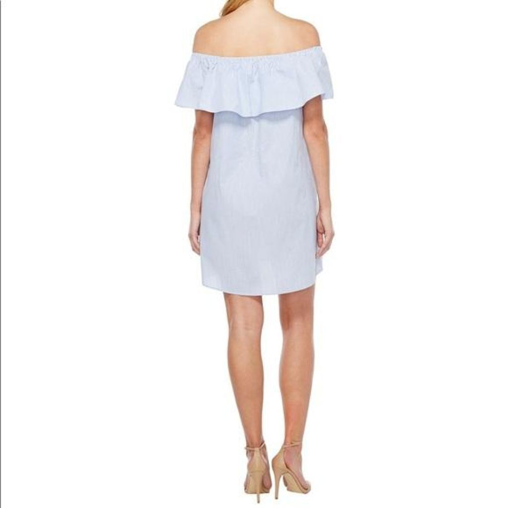 Vince Camuto Ruffled Dress Large-Vince Camuto-Your Fashions For Less