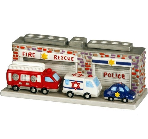 Fire Rescue Menorah