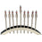 Arch of Freedom Electric Menorah with Flickering Bulbs