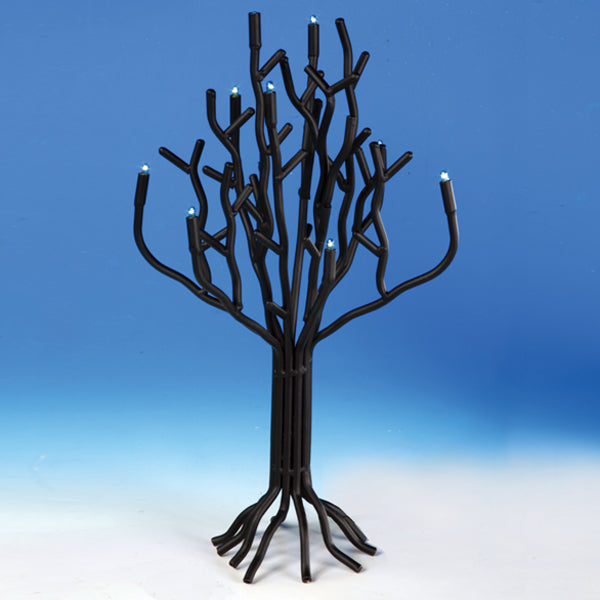 Electric Hanukkah Tree Menorah