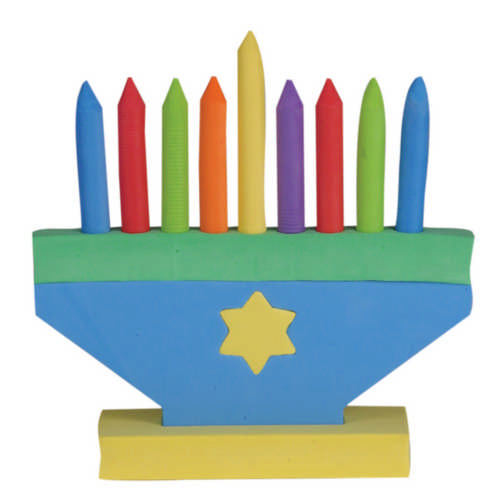 Foam Toy Menorah