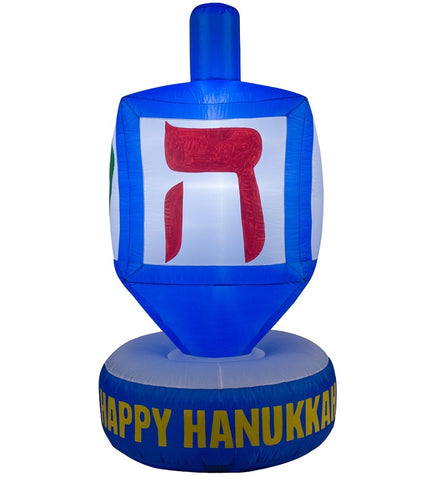 6 Foot Dreidel Inflatable