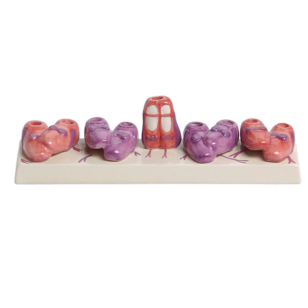 Ballet Slippers Menorah