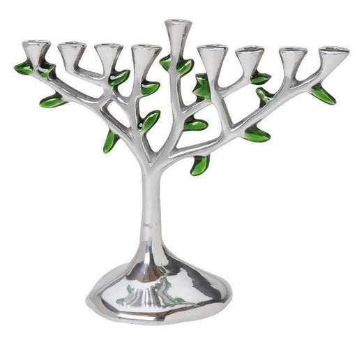 Aluminum Tree Menorah