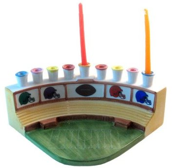 Football Stadium Menorah