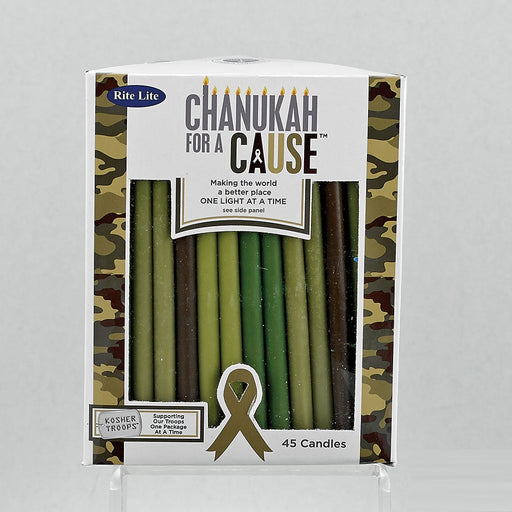 Camo Colored Candles