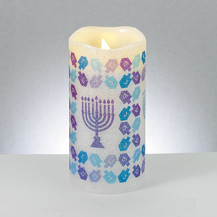Chanukah LED Flameless Candle