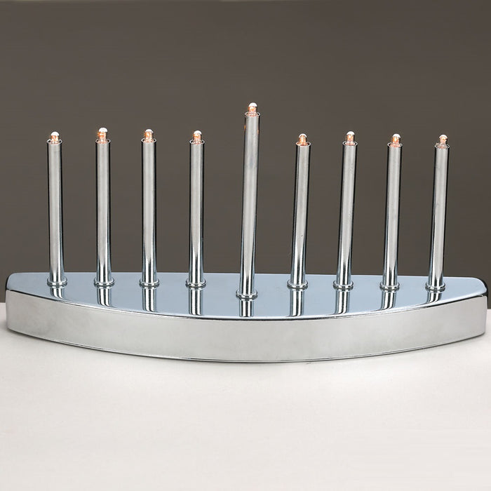 Low Voltage Silvertone Electric Menorah