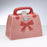 Pink Purse Ceramic Tzedakah Box