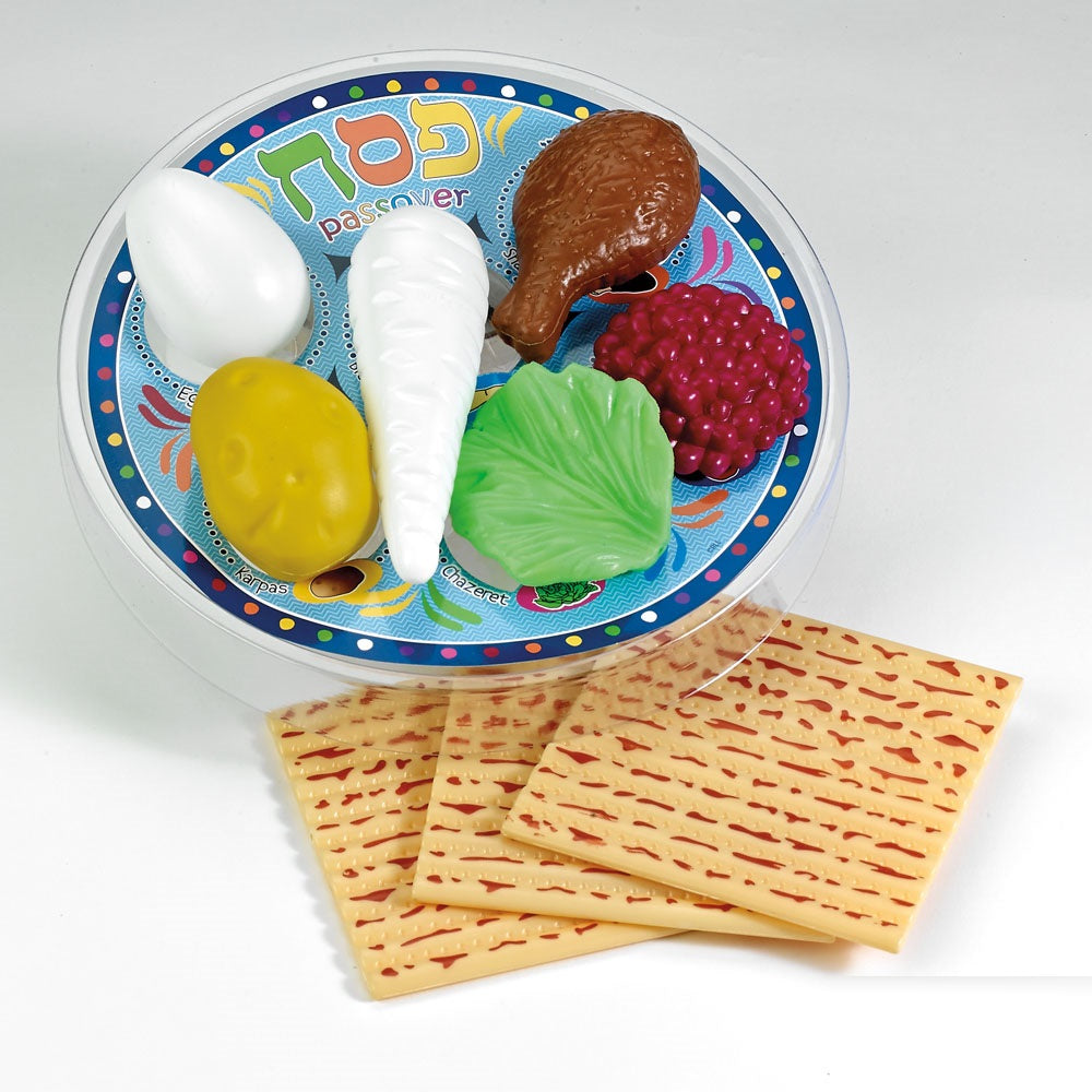 Deluxe Passover Plastic Play Seder Set