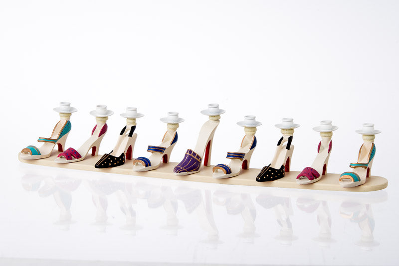 High Heel Shoes Menorah
