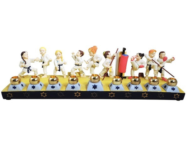 Karate Menorah