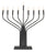 "17"" Electric Menorah -  Pewter or Black Finish"