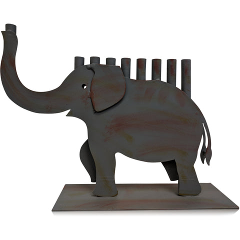 Elephant Menorah