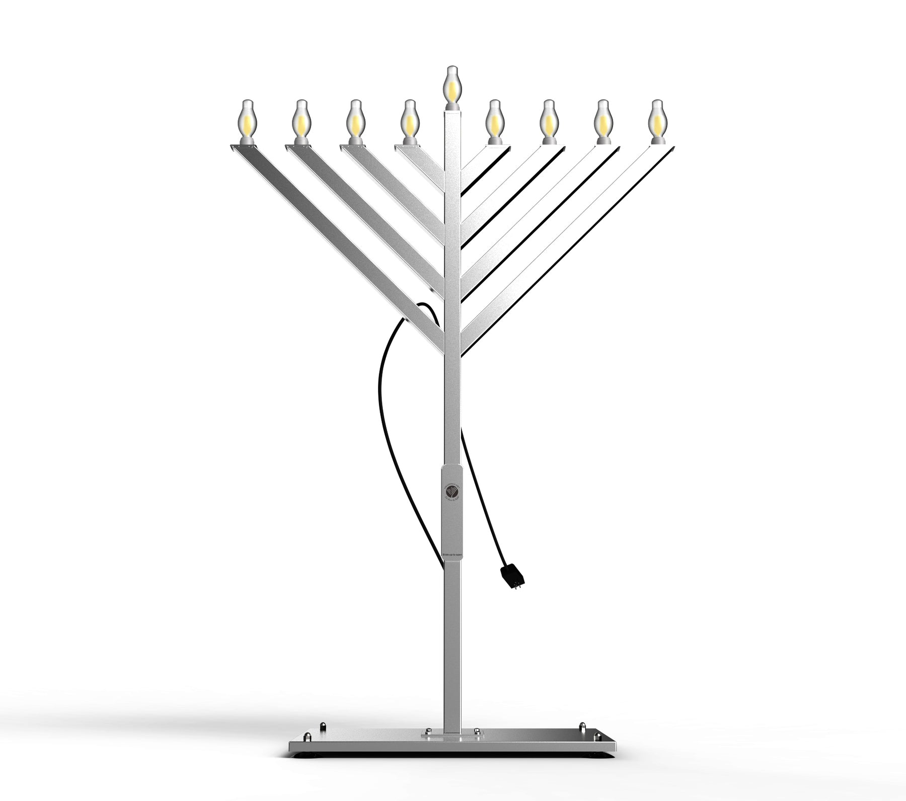 6 , 9, 12 Foot Electric Display Menorah